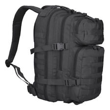 Army Mil Tec Black Backpack US Assault Small 20 litre