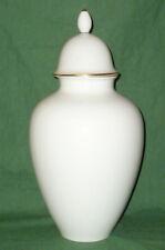 Große Höchst Vase Deckelvase Porzellanvase Deckelpokal 41cm Höchster Porzellan