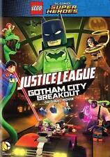 LEGO DC Comics Super Heroes: Justice League - Gotham City Breakout (DVD, 2016)