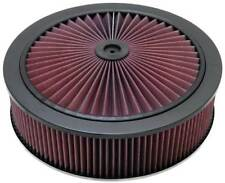K&N X-Stream Top Filter Black 14 inch OD 5.125 inch Neck Flange 5.875 inch H