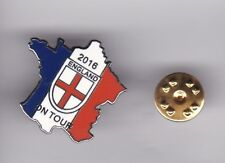 """England """" On Tour 2016 """" - lapel badge butterfly fitting"""