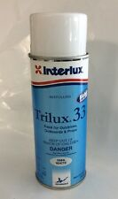 WHITE Interlux Trilux 33 Antifouling Paint Outboard Outdrive 12 oz Volvo YBA068A