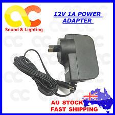 AC240V to DC12V1A Power Supply Adaptor Charger Converter AU Plug 5.5 * 2.1/2.5mm
