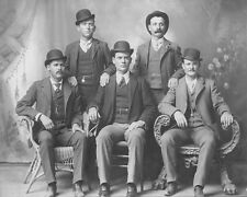 Butch Cassidy And Sundance Kid Fort Worth Five 8X10 Photo 1900