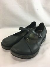 Dansko Shoes Mary Janes Womens 8.5 Blue Gray Leather Comfort Casual Slip On