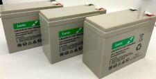 3 x LUCAS LSLA10-12 BATTERY 12V 10AH