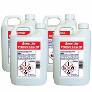 Barrettine High Quality Premium Paraffin Kerosene Heater Lamp Oil Fuel 1L - 16L