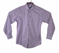 BROOKS BROTHERS 346 Button Up Shirt Men's Size 15.5-4/5 Slim Fit Non-Iron Cotton