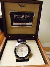 Shinola Filson The Journey Man GMT Watch 44MM $750