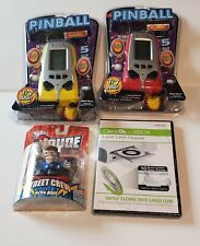 Junk Drawer Lot. Clean Dr For X-box.Pocket Arcade Pinball Games. Teck Deck Dude.