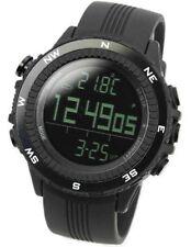 Lad Weather Men's Digital Quartz Black German Sensor Sport Watch