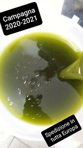 Olio extravergine di oliva bio nuovo di Nocellara del Belice 2020-2021 litri 5