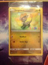 Jangmo-o SM Crimson Invasion 75/111 Toys R Us Holo Promo Pokemon Card Sealed