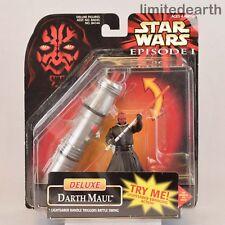Star Wars 1998 Darth Maul Deluxe Action Figure Hasbro Lucasfilm comic series