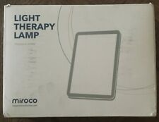 MIROCO LIGHT THERAPY LAMP TOUCH & SHINE NEW