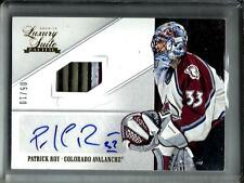 Patrick Roy 12/13 Luxury Suite Autograph Game Used Stick #5/10