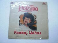 PANKAJ UDHAS KHAZANA 1984 RARE LP RECORD Orig vinyl india hindi GHAZAL VG