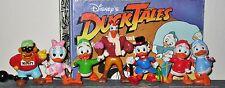 Disney Duck Tales Scrooge McDuck Lot 7 PVC Collectible Figures Set 1986 Vtg RARE