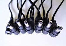 Ángulo recto de 6 vías Cable divisor de entrada de cadena de Margarita para Pedales De Efectos Guitarra Zoom