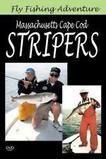 Massachusetts Cape Cod Stripers - New Dvd - Free Shipping