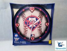 MLB Philadelphia Phillies Wall Clock by Wincraft Sports - New