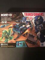 Kre-o Transformers Strongarm Capture Cruiser Building Set Hasbro 2014 NEw Boxed