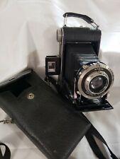 Antique Kodak Six-20 Special Compur Anastigmat Folding Camera Vintage with case