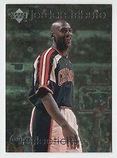 Michael Jordan 1997 Upper Deck REFLECTION Sport Star Of All Time Basketball Card
