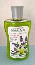 Spa Haus (Canada) Mind and Body Silkience Shower Gel Lavender Vanilla 10 fl oz