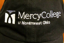 MERCY COLLEGE logo embroidery Northwest Toledo baseball hat OHIO nursing cap