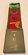 Stance NBA Bulls 91 Rodman Mens Socks Size Medium (6-8.5) New with Tag $20-msrp