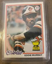 1978 Topps Baseball Eddie Murray Rookie #36