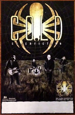 COLD Superfiction Ltd Ed DISCONTINUED RARE Poster +FREE Hard Rock/Metal Poster