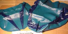 1995 SUZUKI KATANA 600 2-Pc SEAT COVER SKINS Teal/Blue SECOND LOOK SPORTBIKES