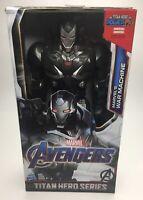"Hasbro Marvel Titan Hero Power FX 12"" inch Avengers 4 Endgame War Machine Figure"