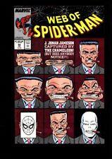 Web of Spider-Man US MARVEL VOL 1 # 52/'89