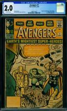 Avengers #1 [1963] Certified 2.0 1st APPEARANCE AVENGERS
