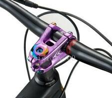KRSEC MTB DH road Bike Stems 31.8*50mm 0° Short Stem Top cap spander set Purple