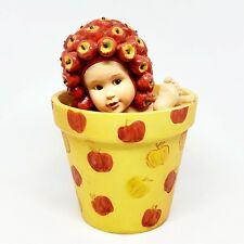 Vintage 1998 Anne Geddes Apple Baby Figure