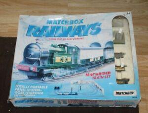 MATCHBOX TN50 MOTORISED TRAIN PLAYSET -BOXED-