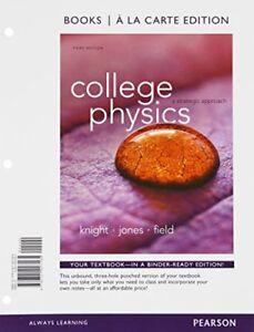 College Physics A Strategic Approach   / Randall Knight
