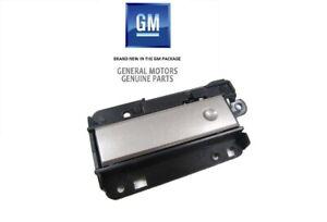 Chevrolet Silverado GMC Sierra Upper Dash Compartment Silver Door LATCH new OEM