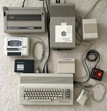 Commodore 64C Computer w/ Hardware Software Games - All Tested & Working Lg. Lot