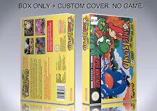 SUPER MARIO WORLD 2. PAL. Box/Case. Super Nintendo. BOX + COVER. (NO GAME).