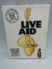 Live aid 1985 dvd boxset rare collectable