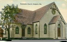 "Eastport Maine~Methodist Church~""A Good Old Church""~1910 Postcard"
