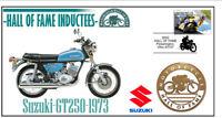 SUZUKI MOTORCYCLE HALL OF FAME COV, 1973 GT250