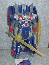 Transformers Age of Extinction OPTIMUS PRIME Complete First Edition Leader