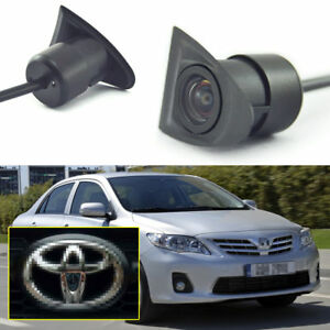 Car Frontview Camera Logo Embedded 170° Full HD CCD for Toyota Corolla 2007-2013