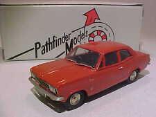 4 inch Opel Vauxhall Viva HB 1968 Pathfinder 1/43 White Metal Built -One of 500-